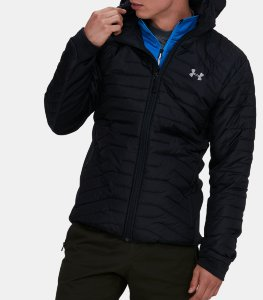 Куртка Under Armour black UA CGR Hybrid Jacket-BLK 1303060-001